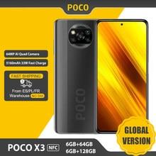 Global Versie Xiaomi Poco X3 Nfc Smartphone 6Gb/128Gb Snapdragon 732G 6.67 ''64MP Camera 33W Snel Opladen 5160Mah Batterij Telefoon