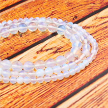 Opal Natural Stone Bead Round Loose Spaced Beads 15 Inch Strand 4/6/8/10/12mm For Jewelry Making DIY Bracelet