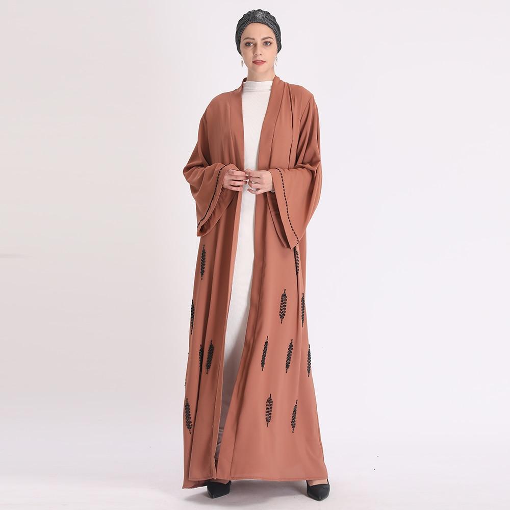 Eid Mubarak Abaya Turkey Kimono Cardigan Hijab Muslim Dress Ramadan Islamic Clothing For Women Dubai Kaftan Oman Robe Ropa Mujer