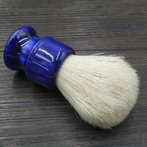 Image 4 - Dscosmetic brocha de afeitar con nudos cerdas de jabalí, 26MM, con mango de resina