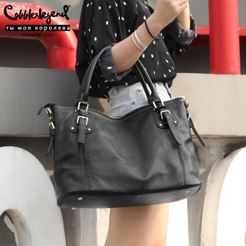 Cobbler Legend 2019 Genuine Leather Ladies Handbags Female Messenger Bags Designer Crossbody Bags For Women Tote Shoulder Bag