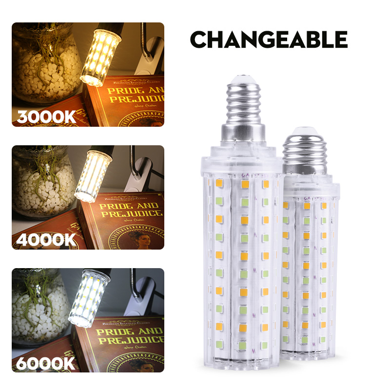 Dimmable E14 Led Bulb E27 12W 18W 60/96/100 Leds Corn Bulb Light Energy Saving Lamp 220V Ampoule Led Lights For Home Decoration