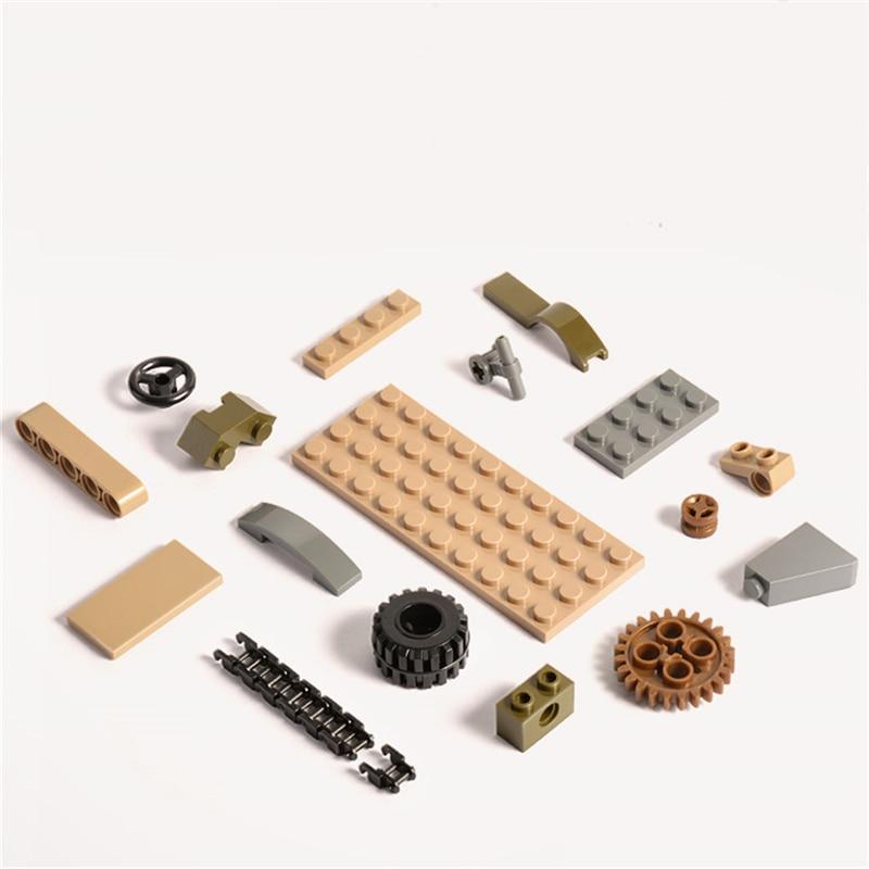 1061PCS Tank Building Blocks Toys Mini figures Vehicle Aircraft Boy Educational Block Military Compatible LegoINGlys Bricks (10)