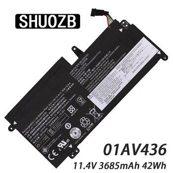 SHUOZB 01AV436 11.25V 3.735Ah 42Wh Laptop Battery for Lenovo ThinkPad SB10K97593 S2 13 SB10K97593 SB10K97594 01AV437