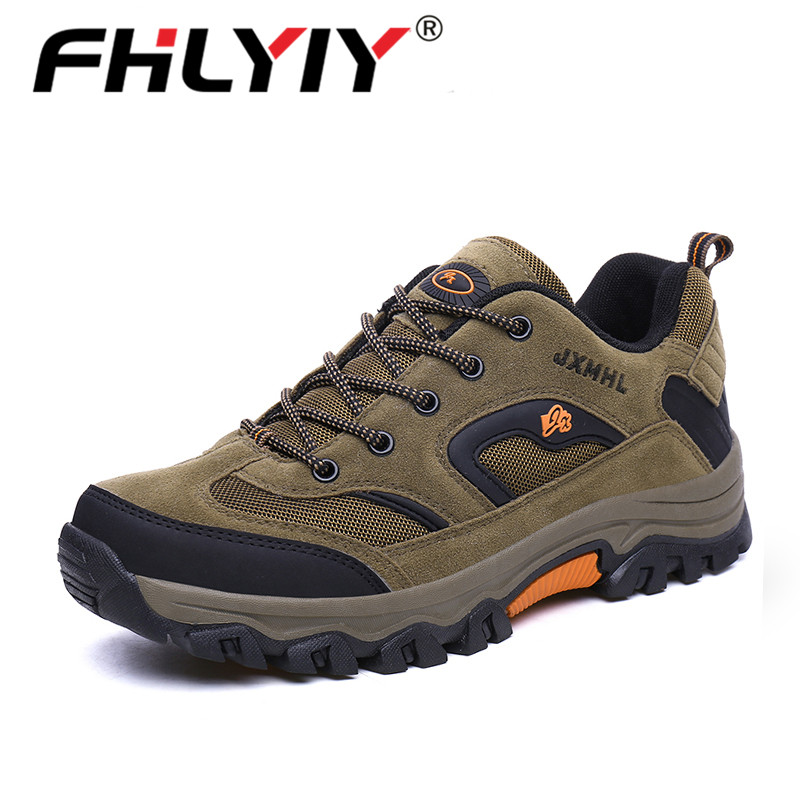 Fhlyiy Brand 2020 New Autumn Winter Sneakers Men Shoes Casual Outdoor Hiking Comfortable Mesh Breathable Male Footwear Non-Slip