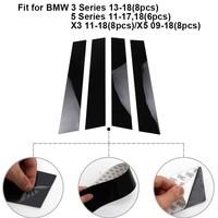 car sticker Car Window Center Pillar Sticker Trim External Decoration Film Car Accessories For Ford Fiesta/Focus 2009 10 11 12 13 14 15 2018 (2)