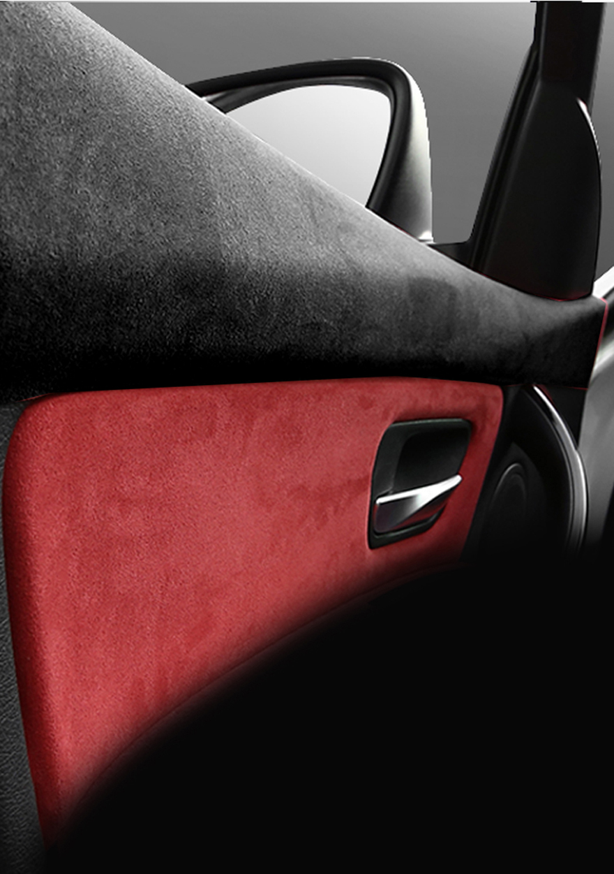 Interior Door Handle Panel Suede Leather Stickers For Bmw F30 3 Series 320i 328i 318i Interior Mouldings Aliexpress