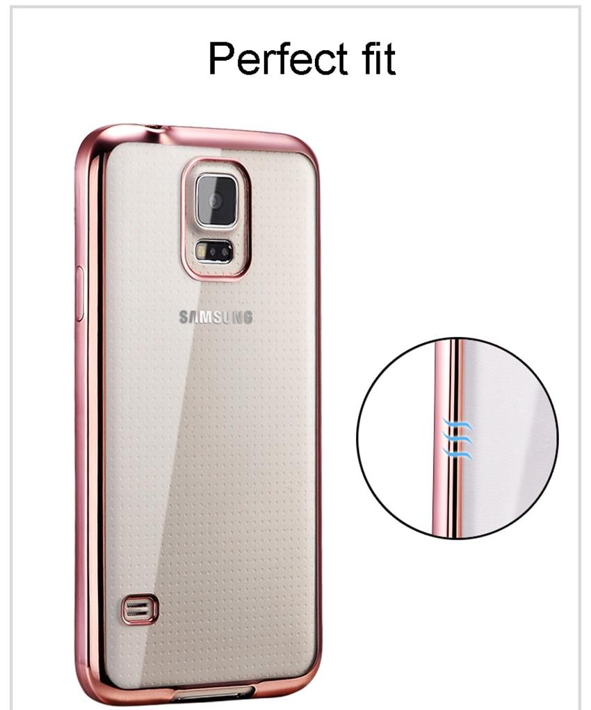 Clear Samsung Galaxy S5 Case 15