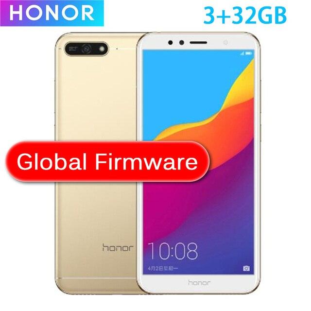 Chińska wersja Honor 7A zagraj w 2GB 32GB Snapdragon 430 Octa Core 5.7 cal z przodu 8.0MP z tyłu 13.0MP 720P 3000mAh 2SIM Bluetooth