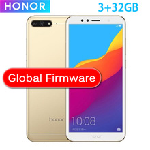 Version chinoise Honor 7A Play 2GB 32GB Snapdragon 430 Octa Core 5.7 pouces avant 8.0MP arrière 13.0MP 720P 3000mAh 2SIM Bluetooth