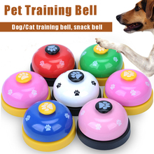 Free Shipping Multi Color Pet Training Bell Cat Dog Training Ring Good Quality Pet Supplies Pet Toys Training Bell