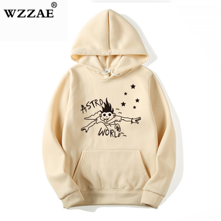 2020 New ASTROWORLD Look Mom i Can Fly hoodie Travis Scott Astroworld hoodie 2020 Gift Print Men's Hip Hop Pullover Sweatshirt(China)
