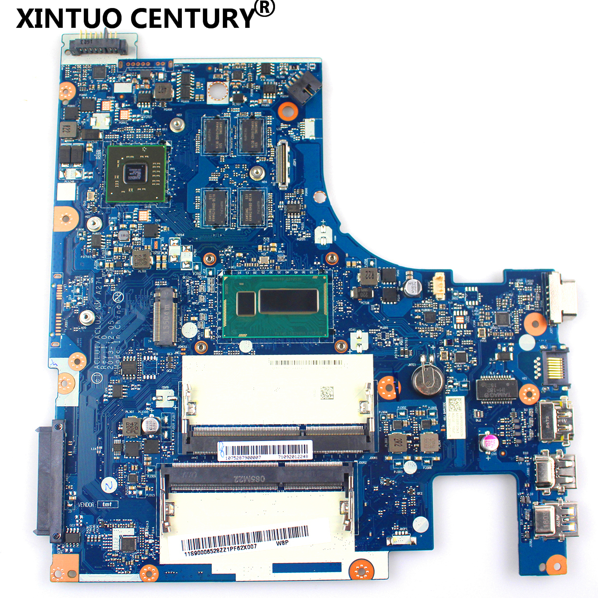 ACLU1/ ACLU2 NM A271 mainboard For <font><b>LENOVO</b></font> <font><b>Z50</b></font>-<font><b>70</b></font> G50-<font><b>70</b></font> laptop <font><b>Motherboard</b></font> WITH PROCESSOR 3558U AND VIDEO CARD 100% full tested image