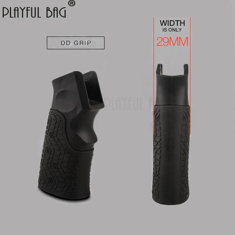 Outdoor Sports Equipment Ultra-thin Strong Magnetic High-speed Motor ERGO AK Ultra-thin Water Bullet Gun Modified Grip LD28