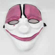 PVC Cartoon Masken Für Männer Frauen Hollween-damen Weihnachten Maskerade Karneval Party Decor Anime Cosplay Masken(China)
