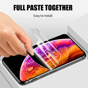 Image 3 - Front+Back Full Screen Protector TPU Film For iPhone XR XS Max X 8 7 6 6s Plus Hydrogel Film For iPhone 12 11 Pro Max mini Film