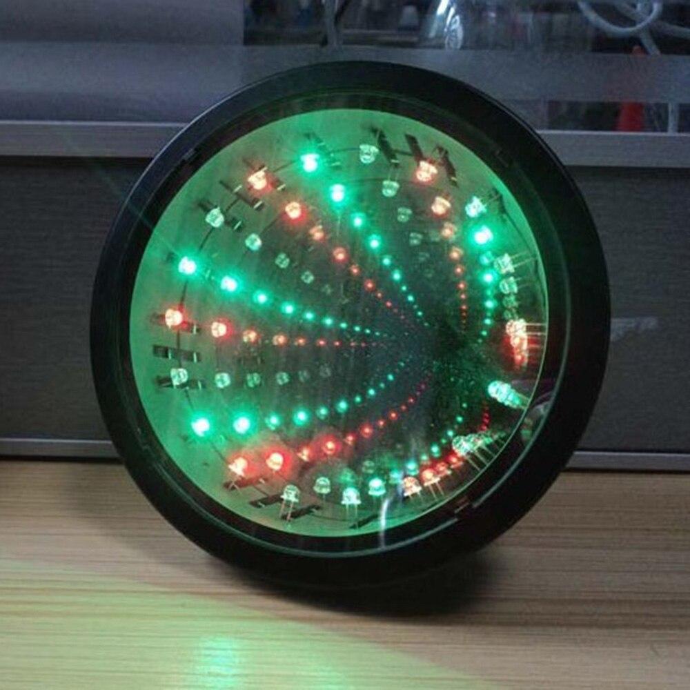 autismo sensorial brinquedo infinito espelho tunel lampada 04