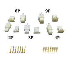 5 Sets/kit 2/3/4/6/9 Pin DJ7021A~DJ7091A-2.8 with terminals Electrical Wire Connectors Plug Male and female Automobile Connector