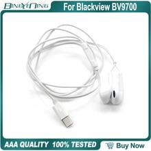 100% neue Original Ohrhörer Headsets Für Blackview BV9700 Pro Kopfhörer In ohr mit Mikrofon Typ c Helio P70 octa Core