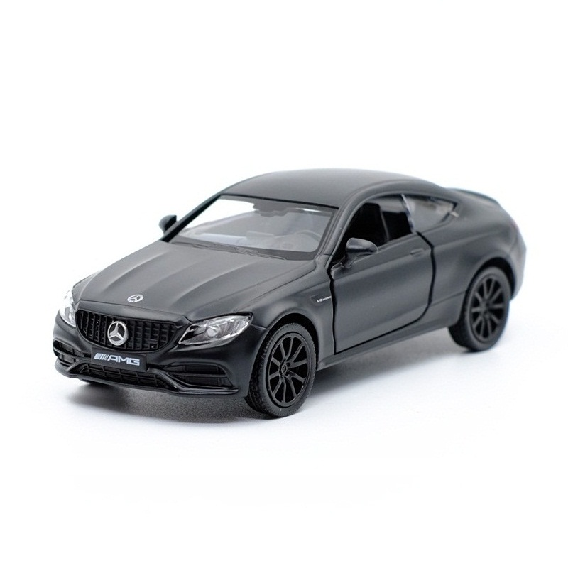 High Simulation Exquisite Diecasts & Toy Vehicles: RMZ City Car Styling C63 S AMG Coupe 1:36 Alloy Diecast Model Pull Back Cars