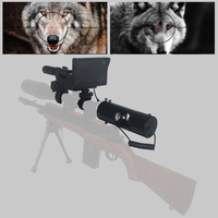 2020 New update Hot Outdoor hunting optics Sight Tactical Riflescope digital Infrared night vision with Sunshade For scope