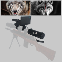 2020 New update Hot Outdoor hunting optics Sight Tactical Riflescope digital Infrared night vision with Sunshade For scope vector optics rogue 2 6x32 aoe hunting riflescope with 25mm mount ring sunshade flipup cap