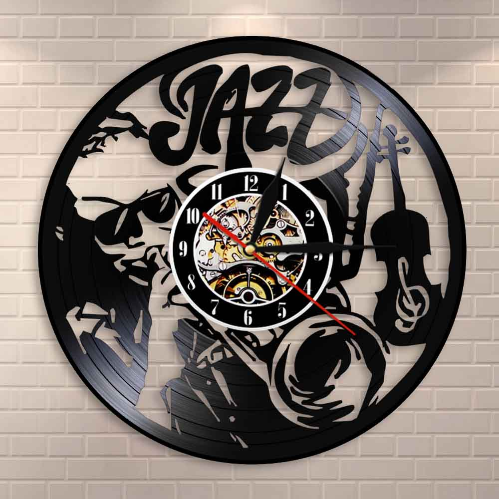 WALL CLOCK New Vinyl Record Turntable Metal Wall Clock GREAT RECORD ROOM DECOR