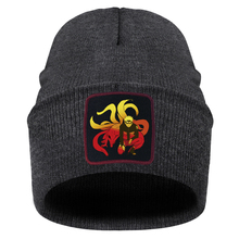 Beanies Anime Gorras Knitted Hats Print Warm Winter Breathable Cartoon Woman Solid Japan