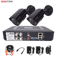 Video monitoring camera system room set surveillance Video recorder 5in1 DVR 2MP 1080P HD Security camera Video surveillance kit