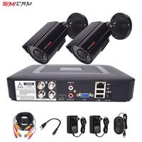 Video monitoring camera system room set surveillance Video recorder 5in1 DVR 2MP 1080P HD Security camera Video surveillance kit