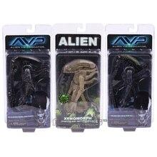 NECA AVP ALIENS VS. PREDATOR Xenomorph Warrior Griglia Alien PVC Action Figure Modello Giocattolo Figurals Collezione