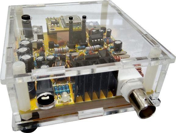 Super Octopus Kit S-RockMite CW Transceiver QRP Telegram Shortwave Radio 7.023