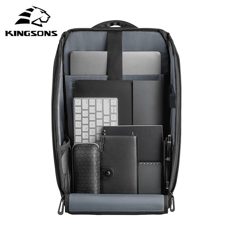 Kingsons 15.6 inch Laptop Backpack 5