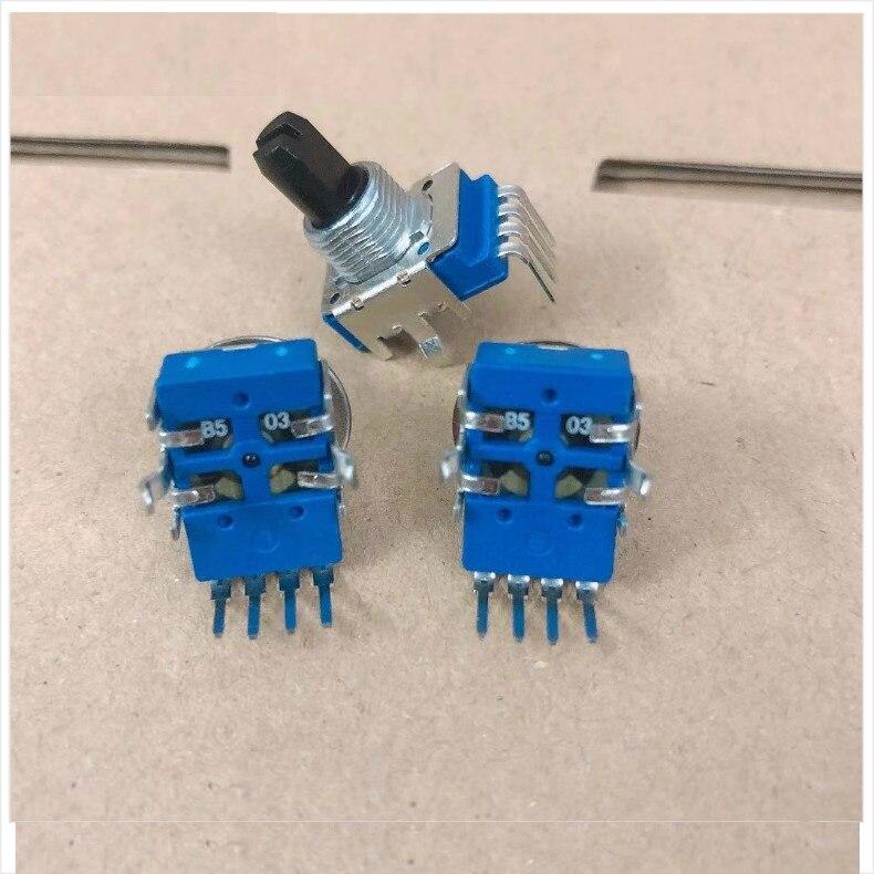 1 pces para gigaworks para t3 inovador computador alto-falante com fio-controlado potenciômetro de ajuste de volume rotativo 4 pés b50k b503