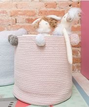 INS new dirty clothes collection basket wool ball finishing laundry household toy storage box grocery bag