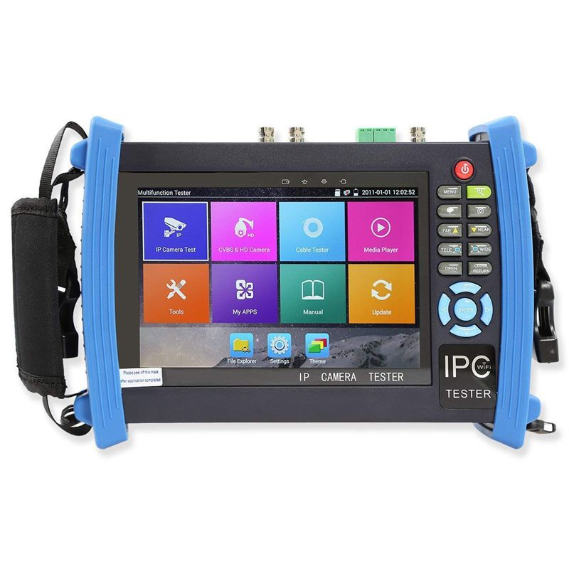 7 Inch All In One 1080P Retina Display Ip Camera Tester Security Cctv Tester Monitor With Poe/Wifi/4K H.265/Hdmi In And Out/Rj45|Surveillance Cameras| |  - title=