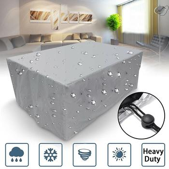 New Waterproof Outdoor Patio Table Dust Cleaning Cover Garden Furniture Shelter Protectors New image