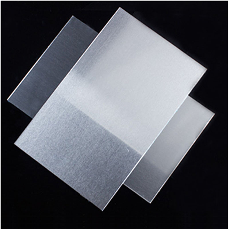 1060 Aluminum Flat Plate Board Machinery Parts Pure Aluminum Sheet Electrical Application DIY Material 300*300mm 500*500mm