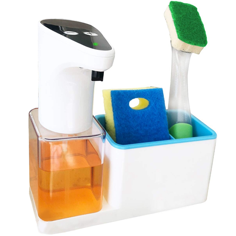 US $16.92 22% OFF|Premium 15 Oz Kitchen Soap Dispenser With Sponge Holder  Automatic And Touchless Dispense Technology Perfect Packaging For Christ on  ...