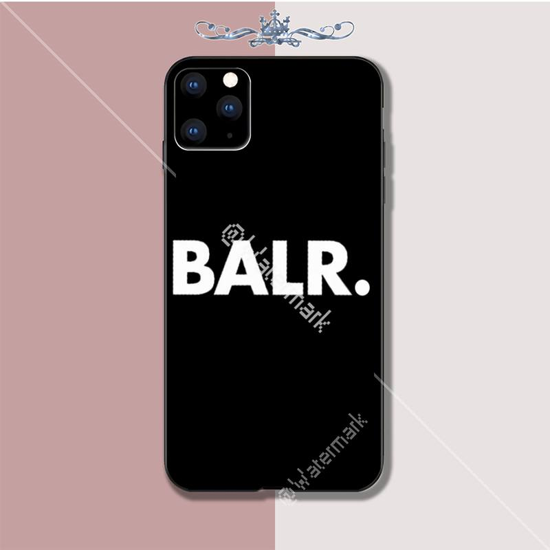 Maiya Cool Balr Logo Luxury Phone Case Coque For Iphone 5s Se 2020 6 6s 7