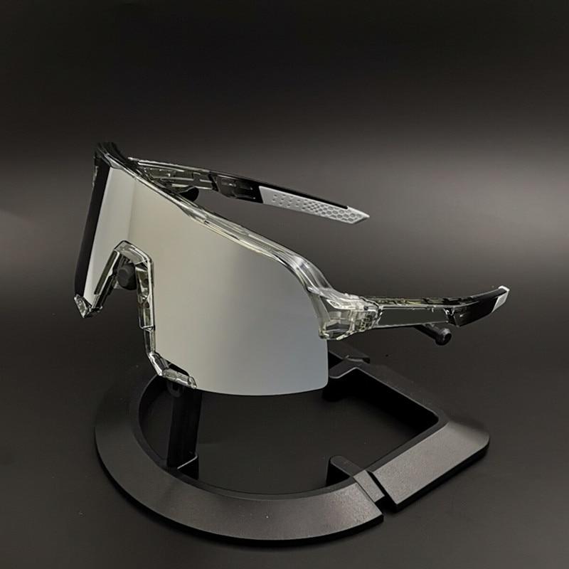 Outdoor Bicycle Glasses Men Women 3 Lens Sport Bike Cycling Sunglasses Eyewear