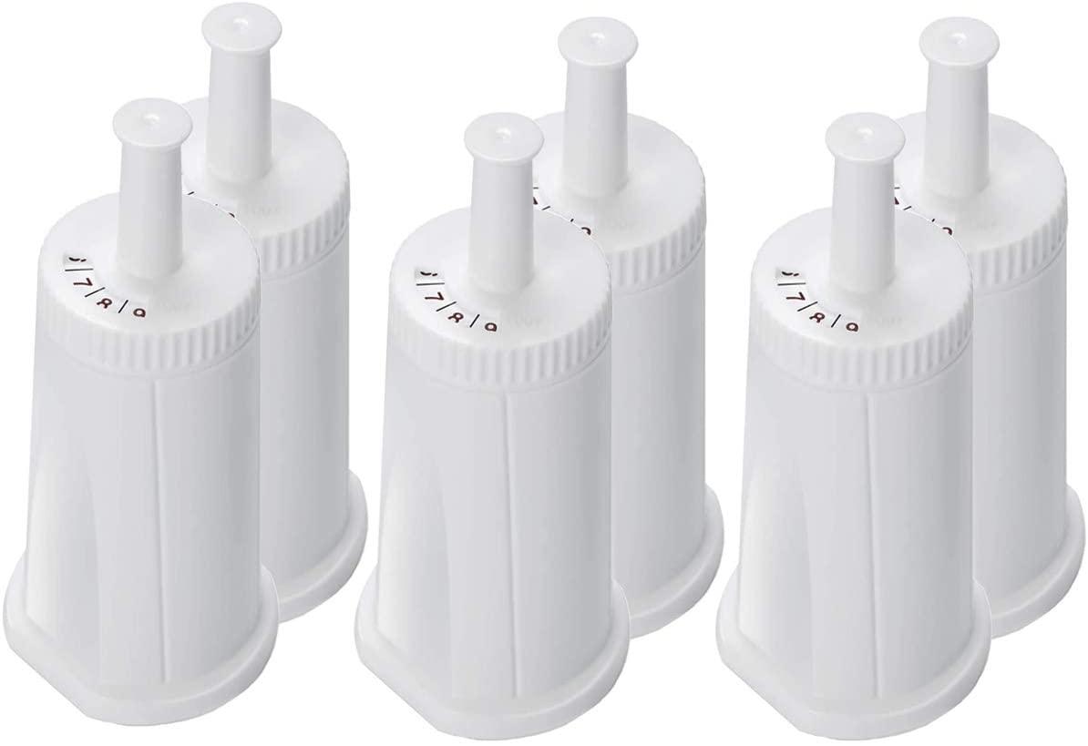 6 pacote de substituição filtro de água compatível com breville sage claro swiss para oracle barista bambino máquina de café expresso