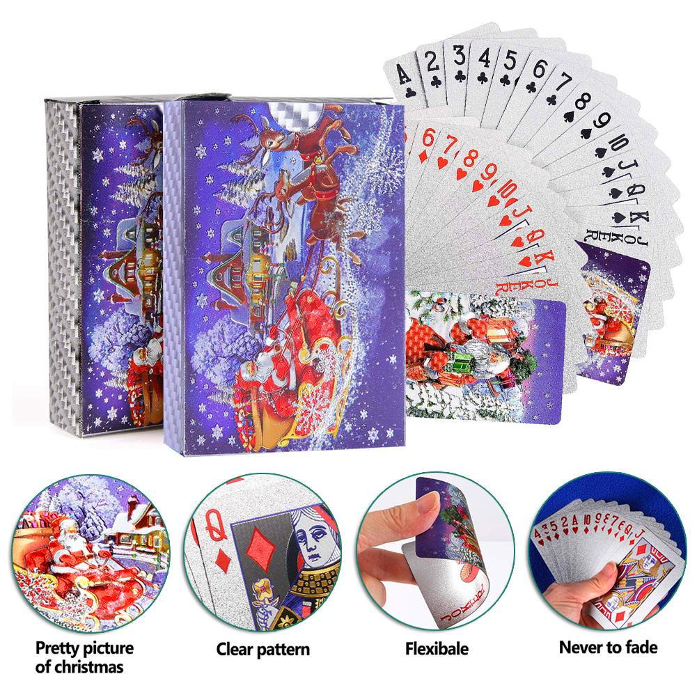 2-sets-christmas-pattern-waterproof-playing-cards-font-b-poker-b-font-game-deck-silver-foil-font-b-poker-b-font-sets-plastic-magic-card-waterproof