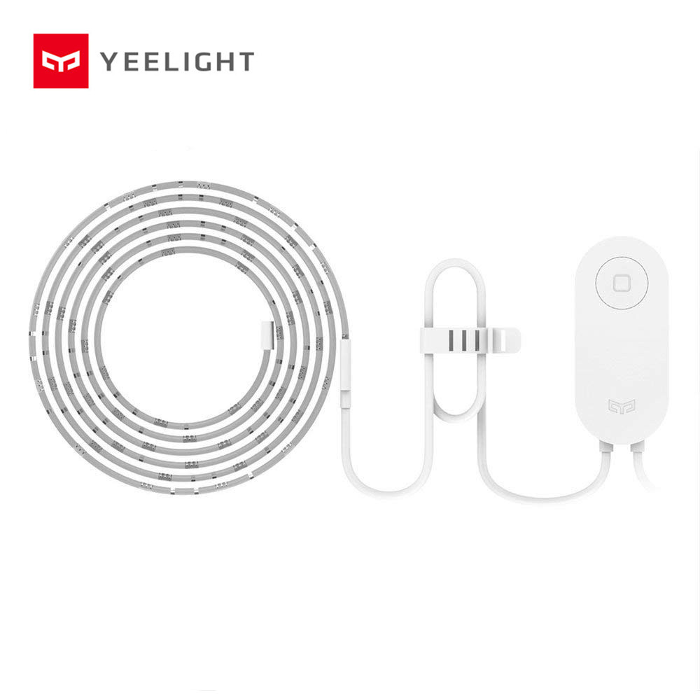 Yeelight RGB LED 2M Smart Light Strip Smart Home for Mi Home APP WiFi Works with Alexa Google Home Assistant 16 Million Colorful(China)
