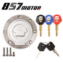 Lock Fuel-Gas-Tank-Cap-Cover XJR1300 Motorcycle YAMAHA 2005 YZF1000 for 2002/2003/2004/..