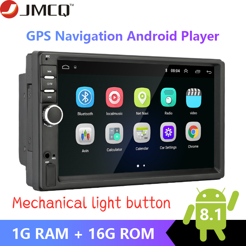 Android 8 1 2Din 7 Car radio Multimedia Player Universal autoradio GPS Mirror Link For Volkswagen