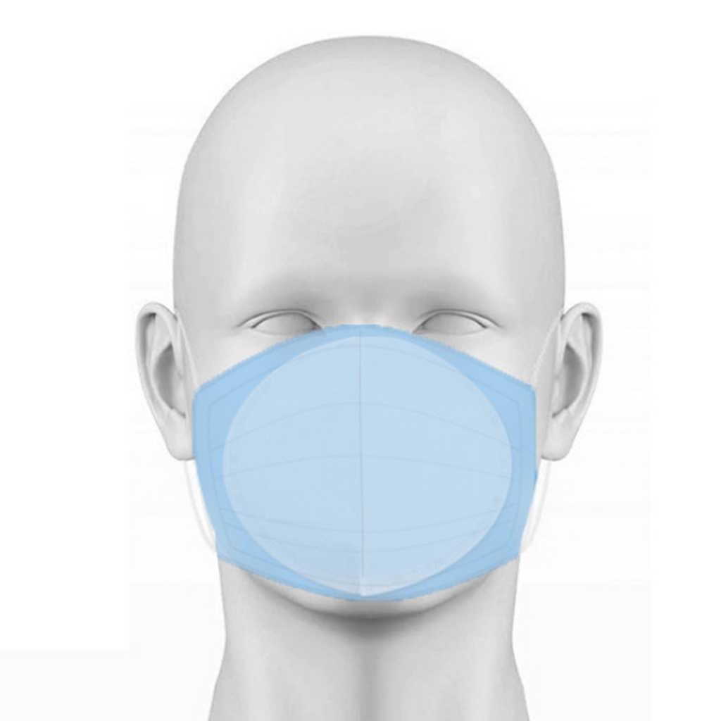 50 шт одноразовые нетканые Тканевые маски Сменные коврики пылезащитные прокладки вставки Пылезащитный фильтр для ffp2 ffp3 N95 маски для лица
