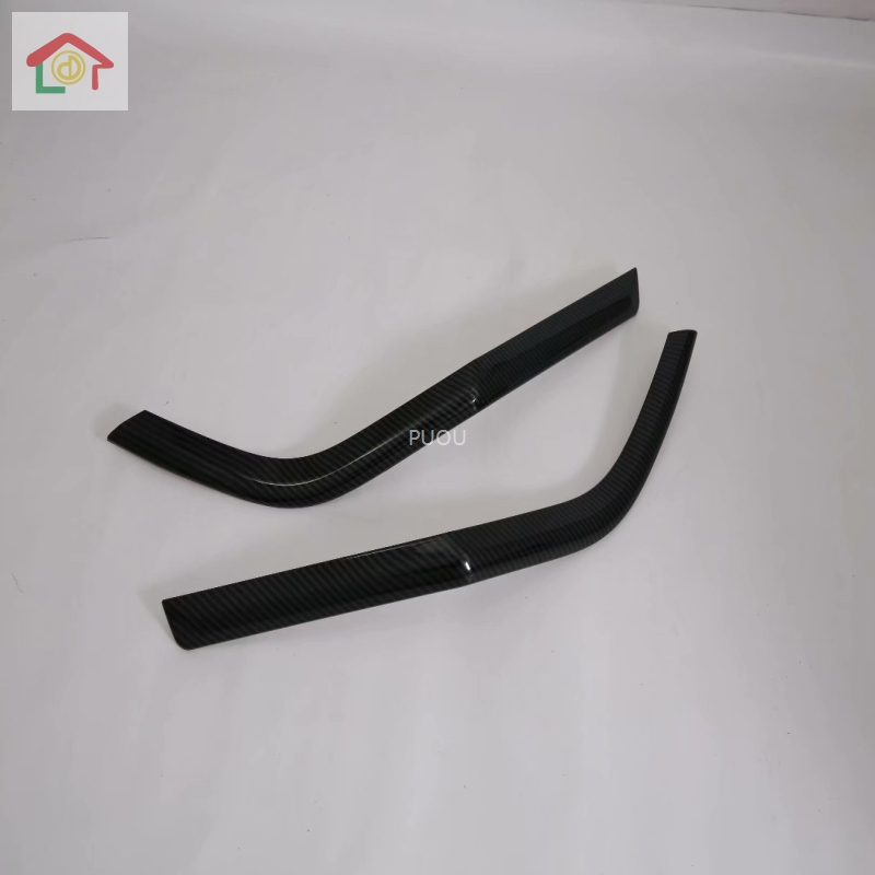 Fit For <font><b>Hyundai</b></font> <font><b>Santa</b></font> <font><b>Fe</b></font> <font><b>2019</b></font> Car Rear Fog Light Lamp Decoration Strips Car Styling Trim ABS Accessories image