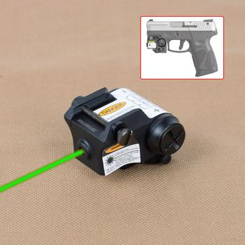 Tactical Mini Red/Green/IR Laser Sight Fit All Railed Including Full Size Compact Subcompacts Pistol For Taurus G2C  Glock