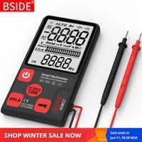 Mini multimètre numérique BSIDE ADMS9 S7 testeur voltmètre résistance Ohm Test de continuité NCV avec lampe de poche